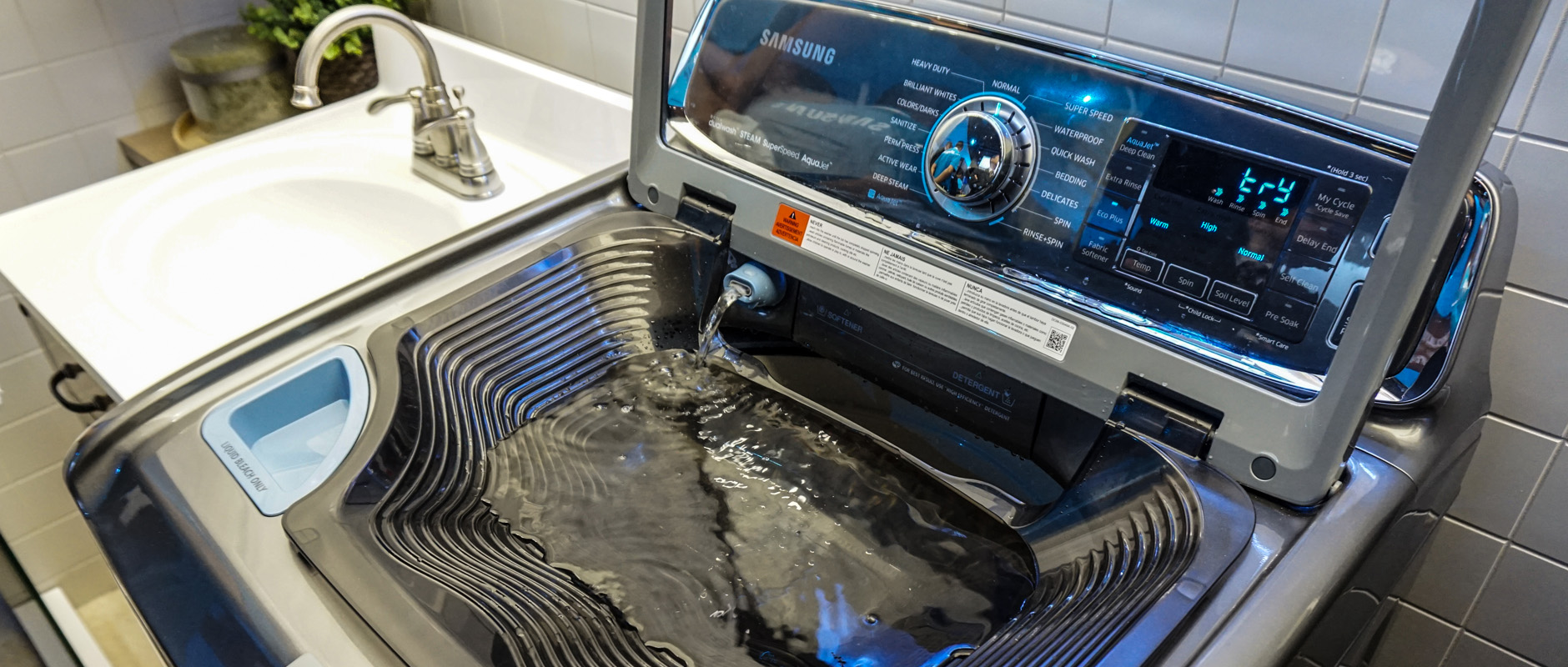 samsung washing machine up