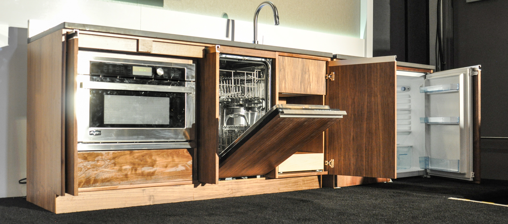 downsizing goes modular with ges micro living concept reviewedcom dishwashers