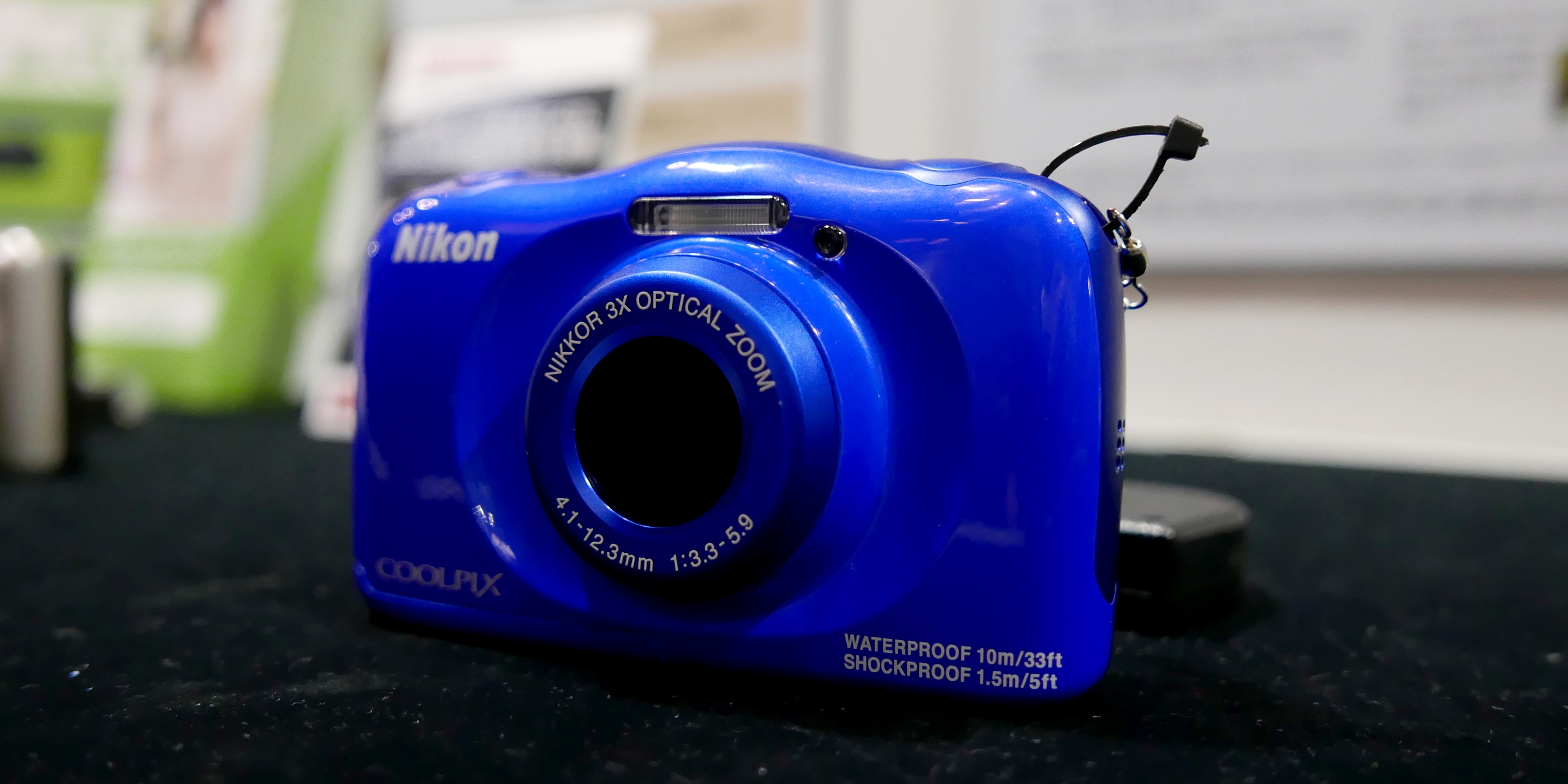 Nikon Coolpix S33 First Impressions Review Reviewed Com