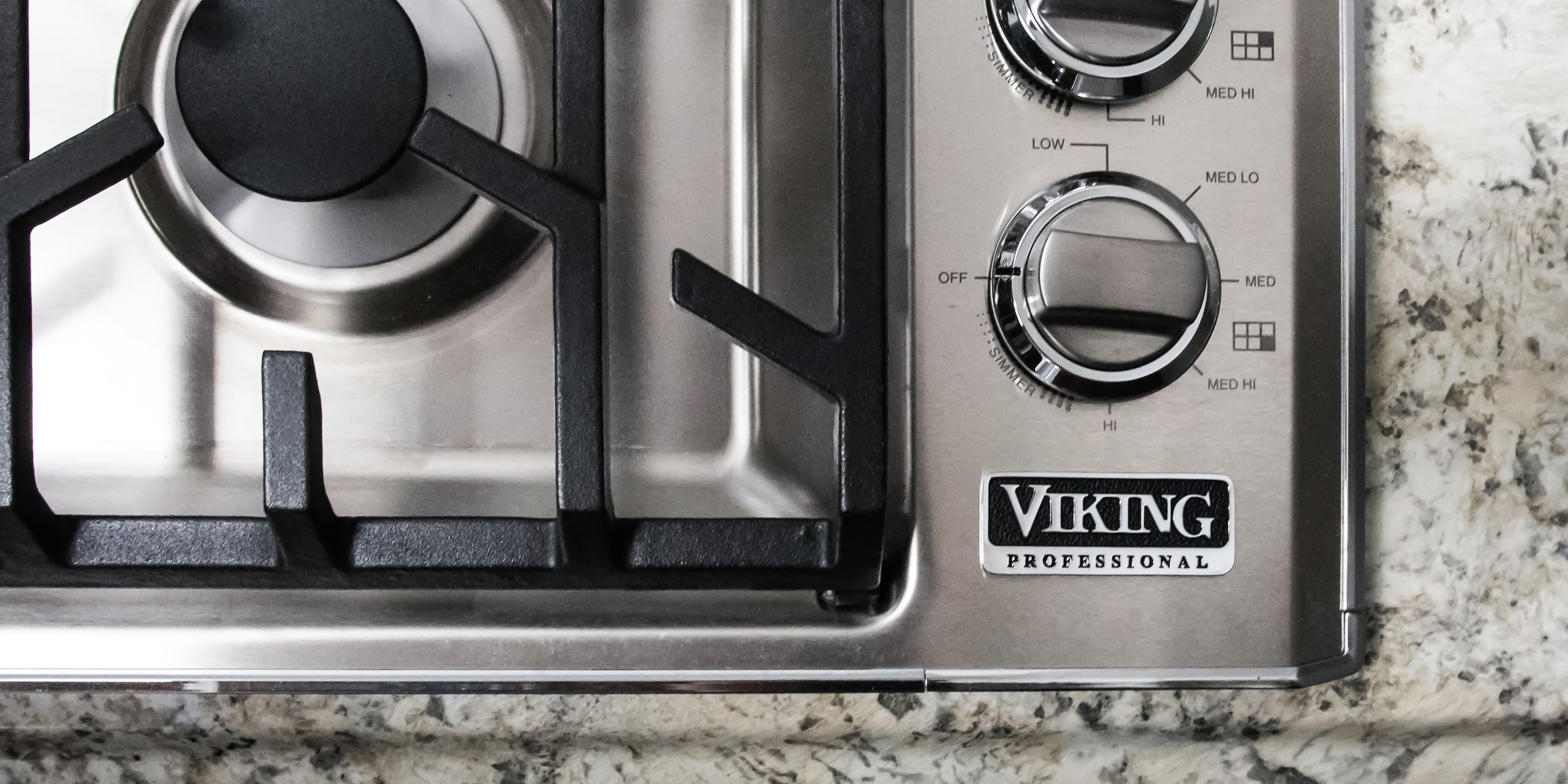 36 Inch Cooktops ~ Viking professional vgsu bss inch gas cooktop review