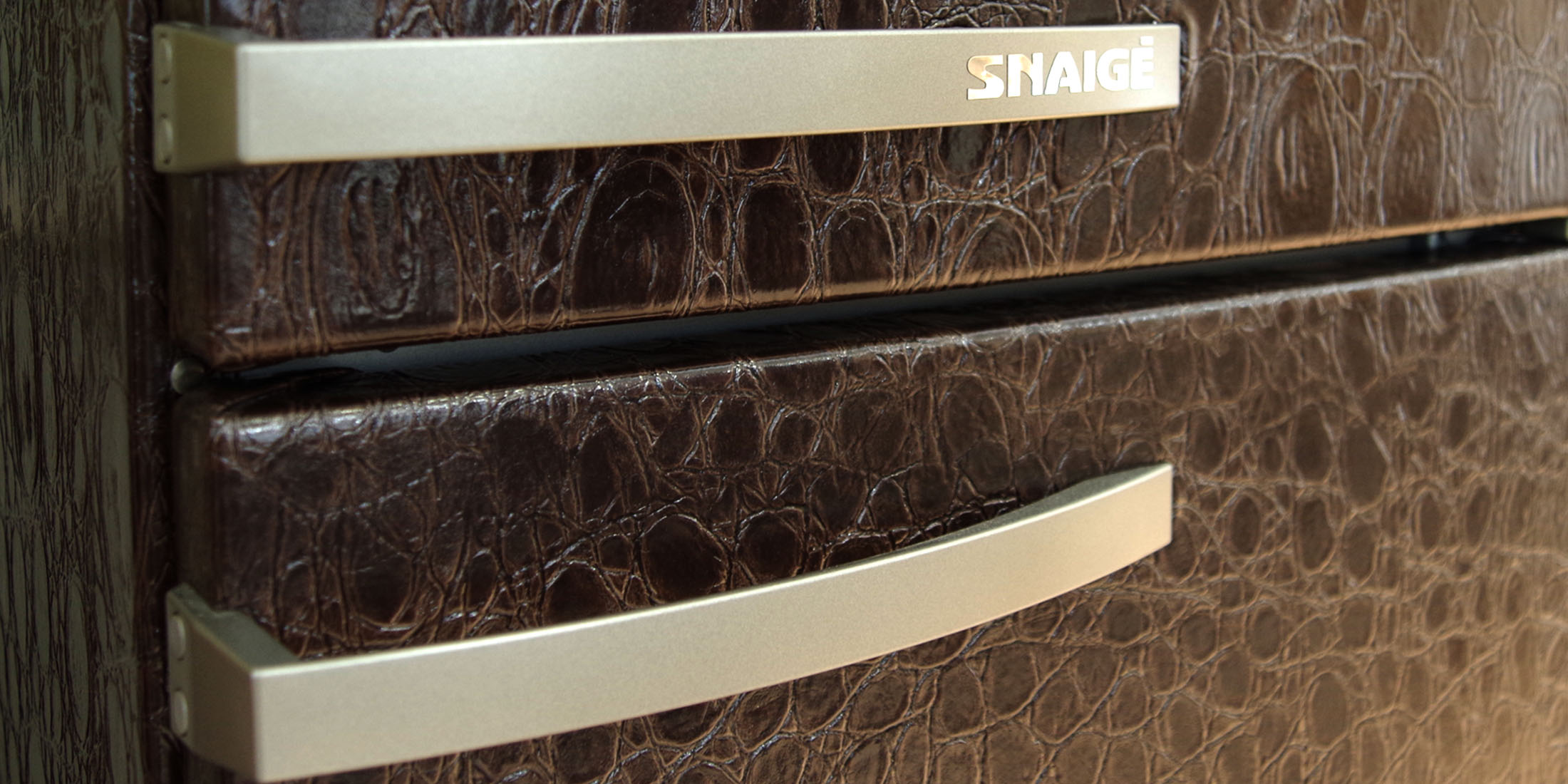 Check Out This Leather Fridge From Lithuania S Snaigė