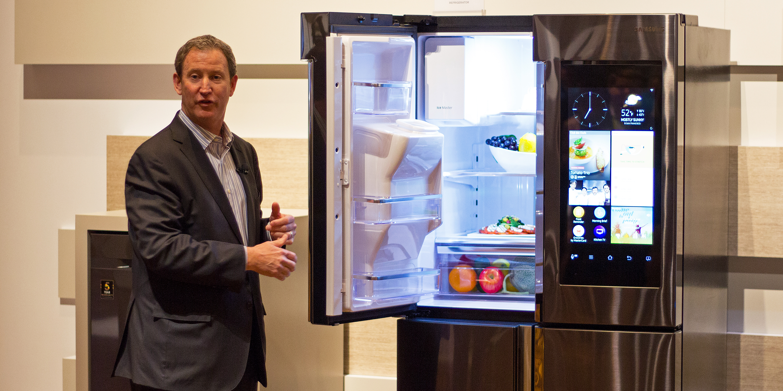 Samsung Family Hub Refrigerator First Impressions Review