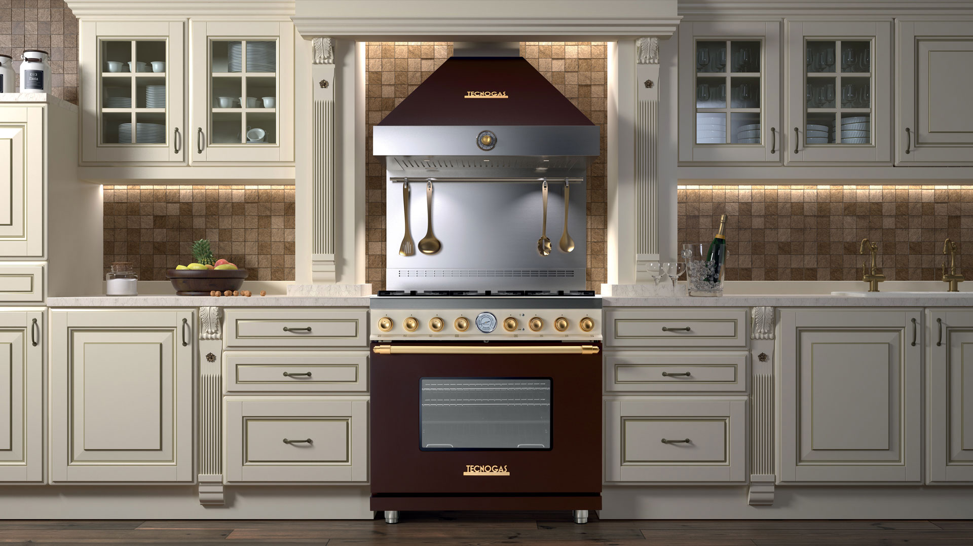 Tecnogas Art Deco Ranges For Luxe Homes Ovens