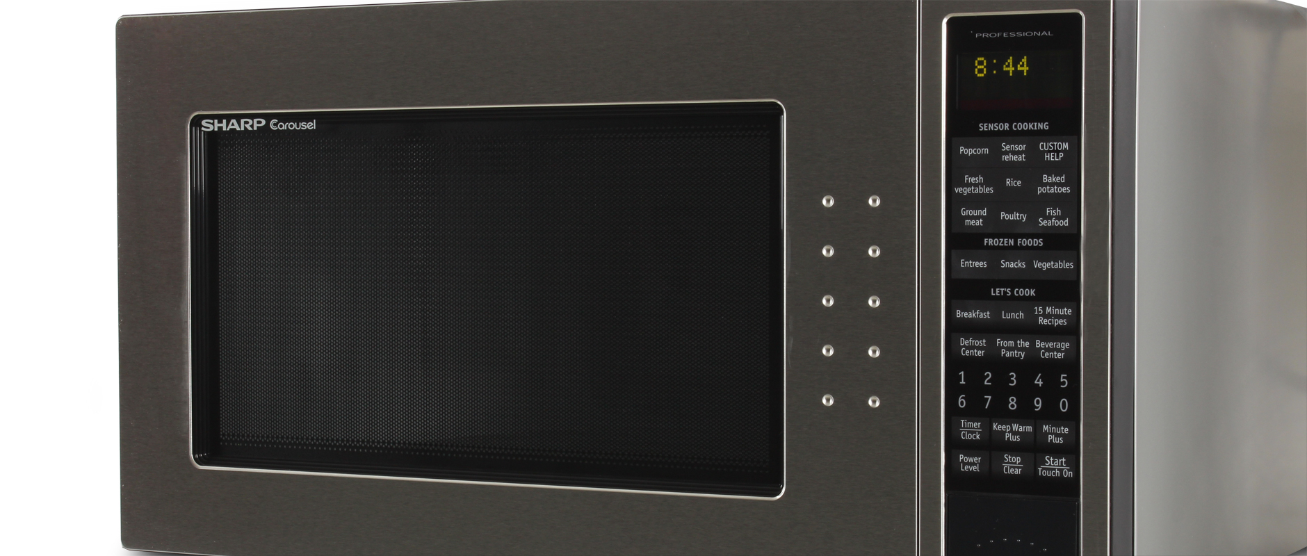 Countertop Microwave Reviews : Sharp R-530ES Countertop Microwave Review - Reviewed.com Microwaves