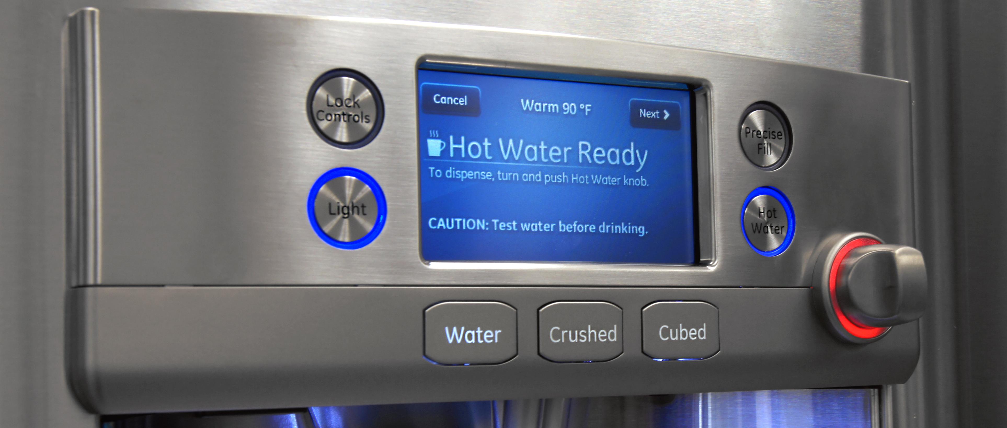 Ge Caf 233 Cfe28tshss Refrigerator Review Reviewed Com