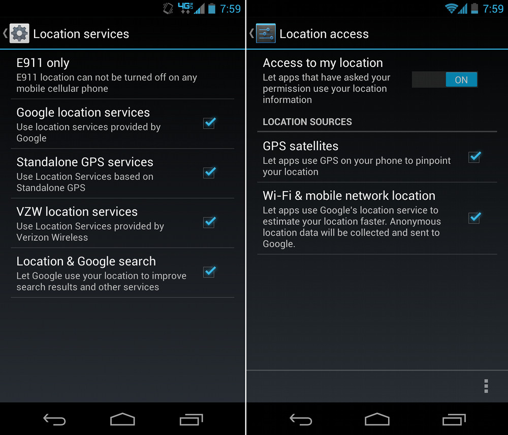3 Turn Off Location Services (gps)