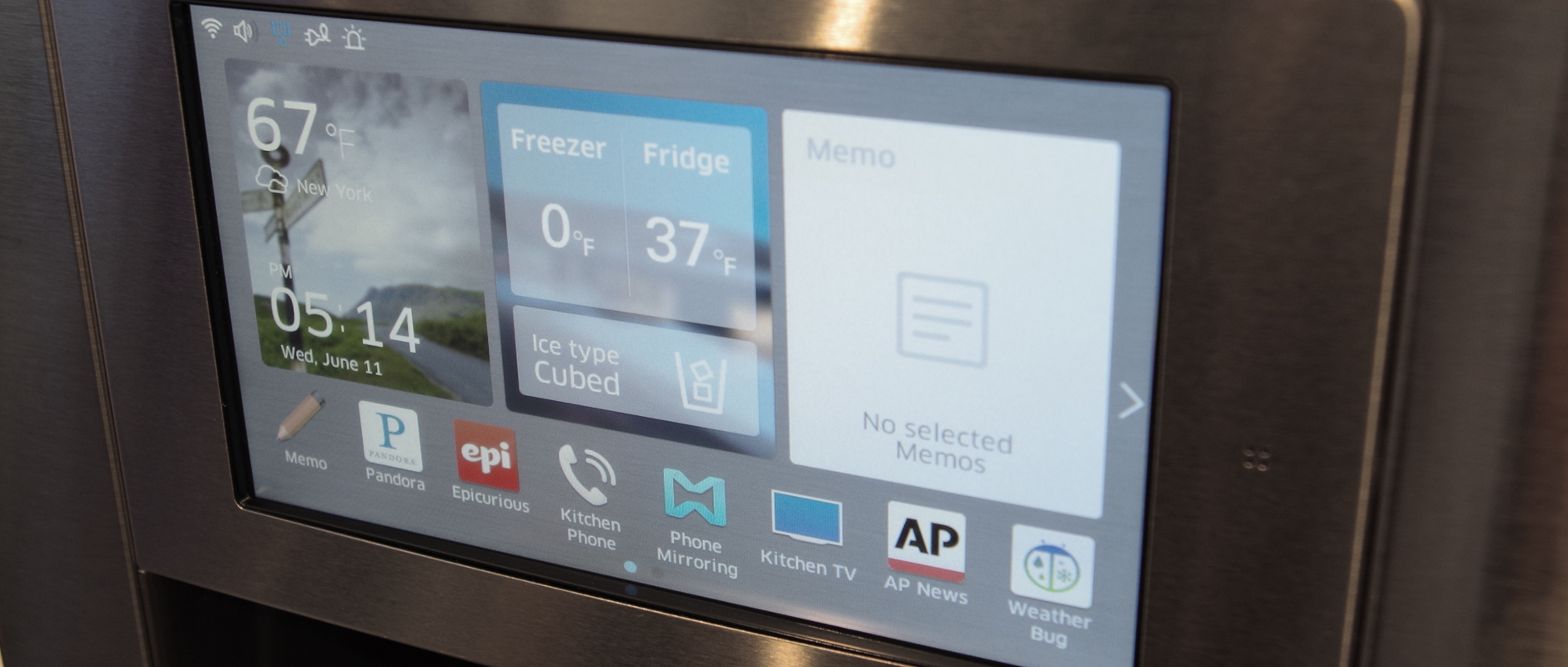 Hands On With Samsung S New Smart Refrigerator Reviewed