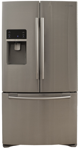 Samsung Rfg297hdrs 29 Cu Ft French Door Refrigerator